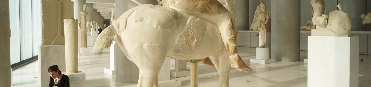 Musée Acropole - Numérisations 3D