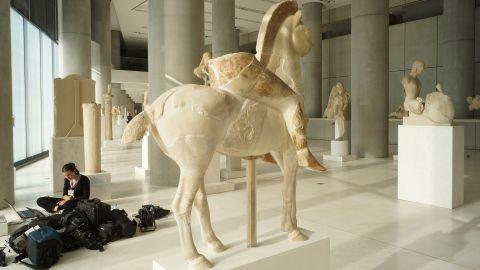 Musée de l'Acropole d'Athènes – Numérisations 3D