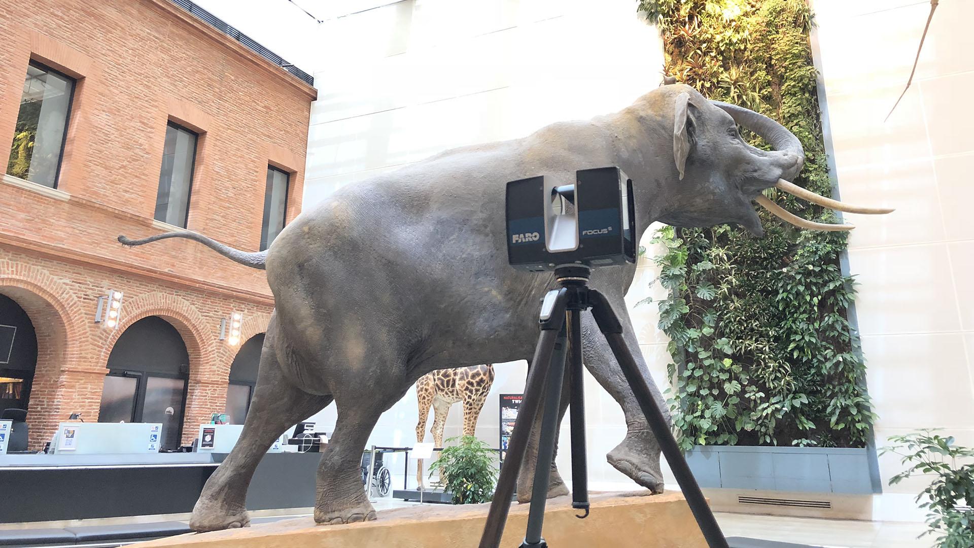 Numérisation 3D longue distance - Scanner 3D