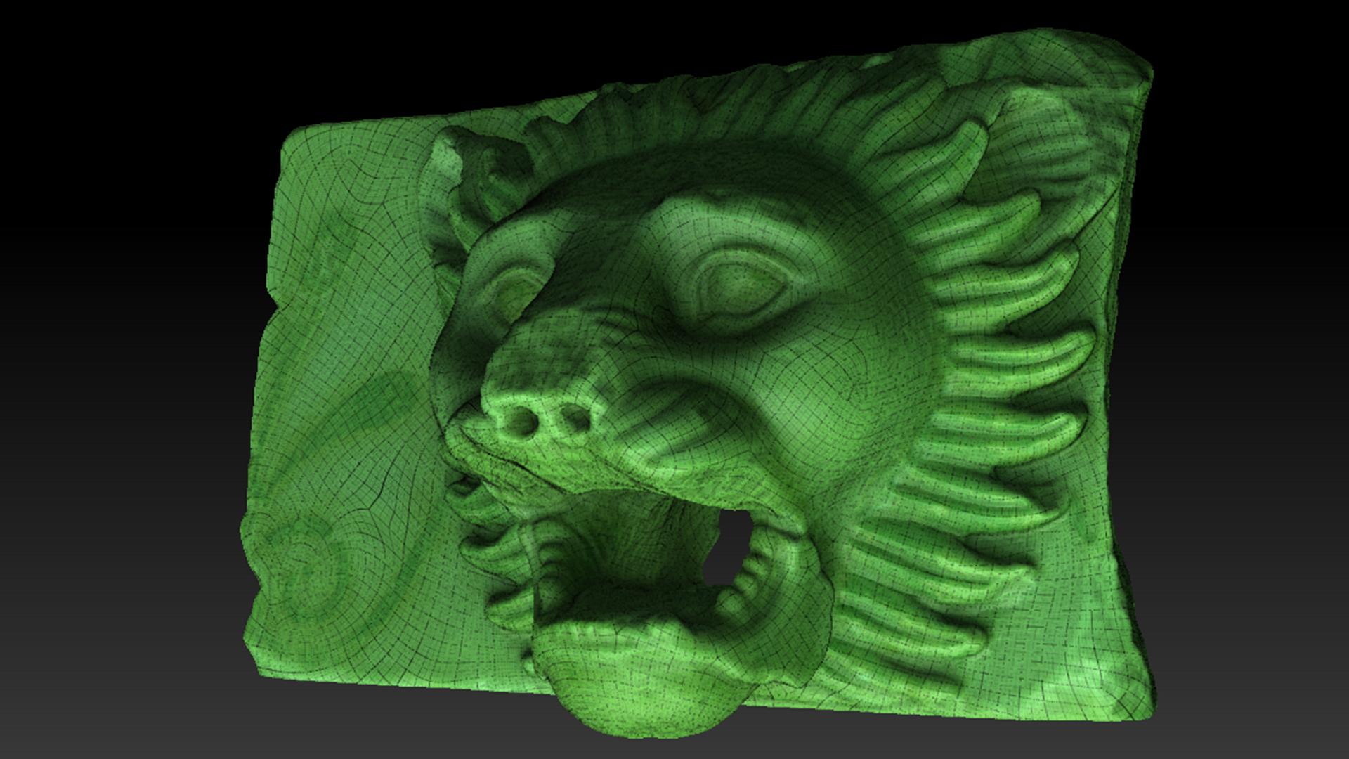 Musée de l'Acropole - Numérisation 3D