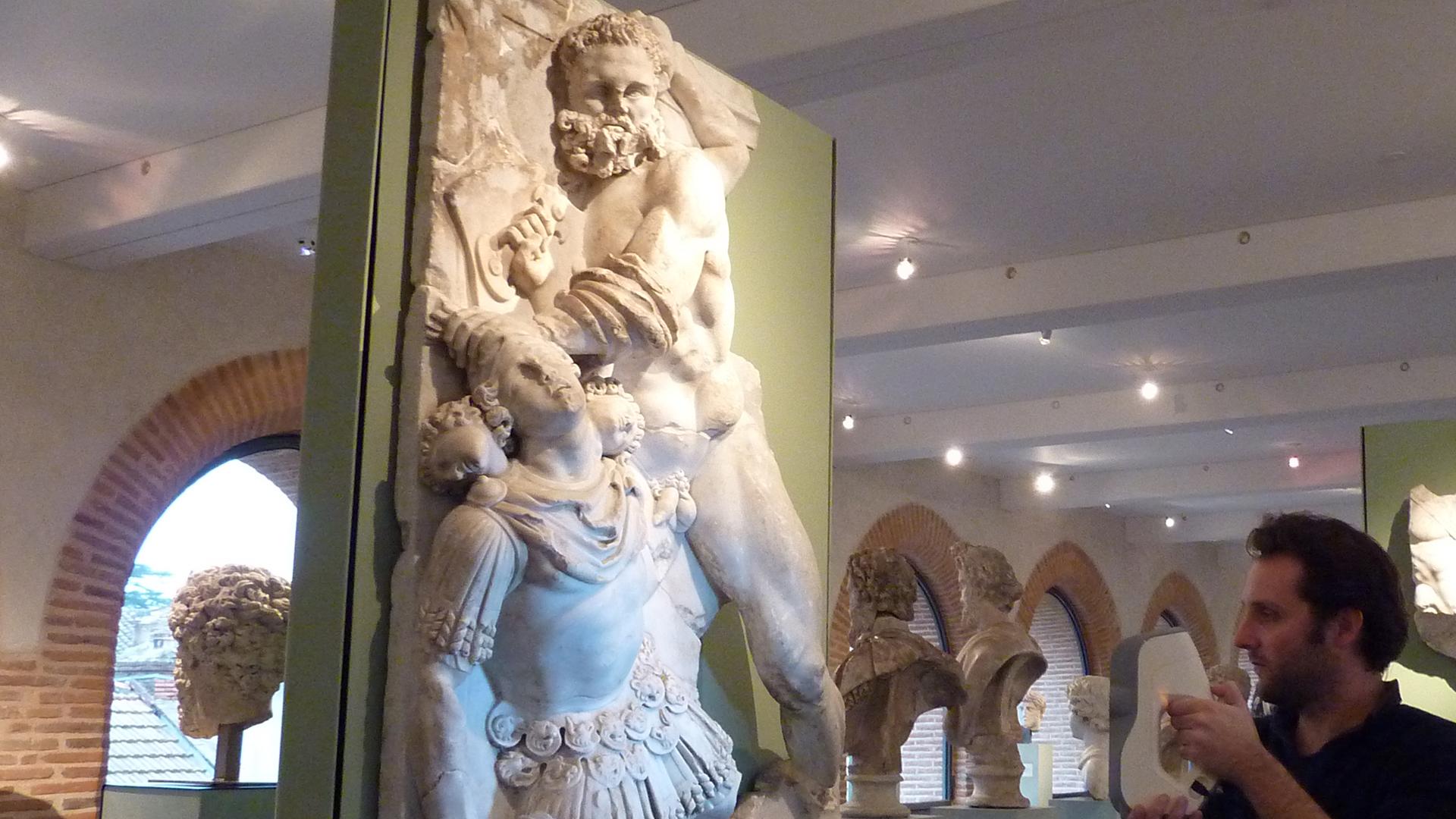 Musée Saint-Raymond - Numérisation 3D