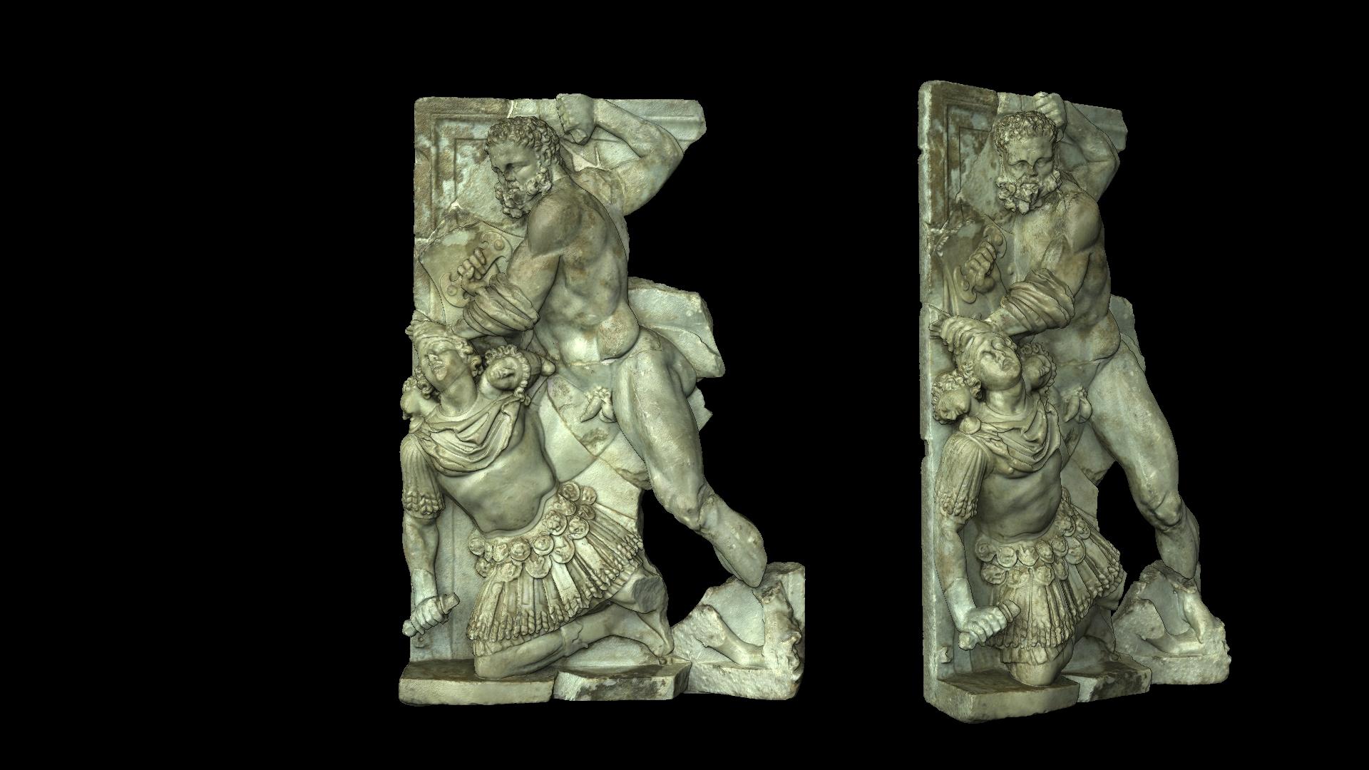 Musée Saint-Raymond - Hercules - Numérisation 3D