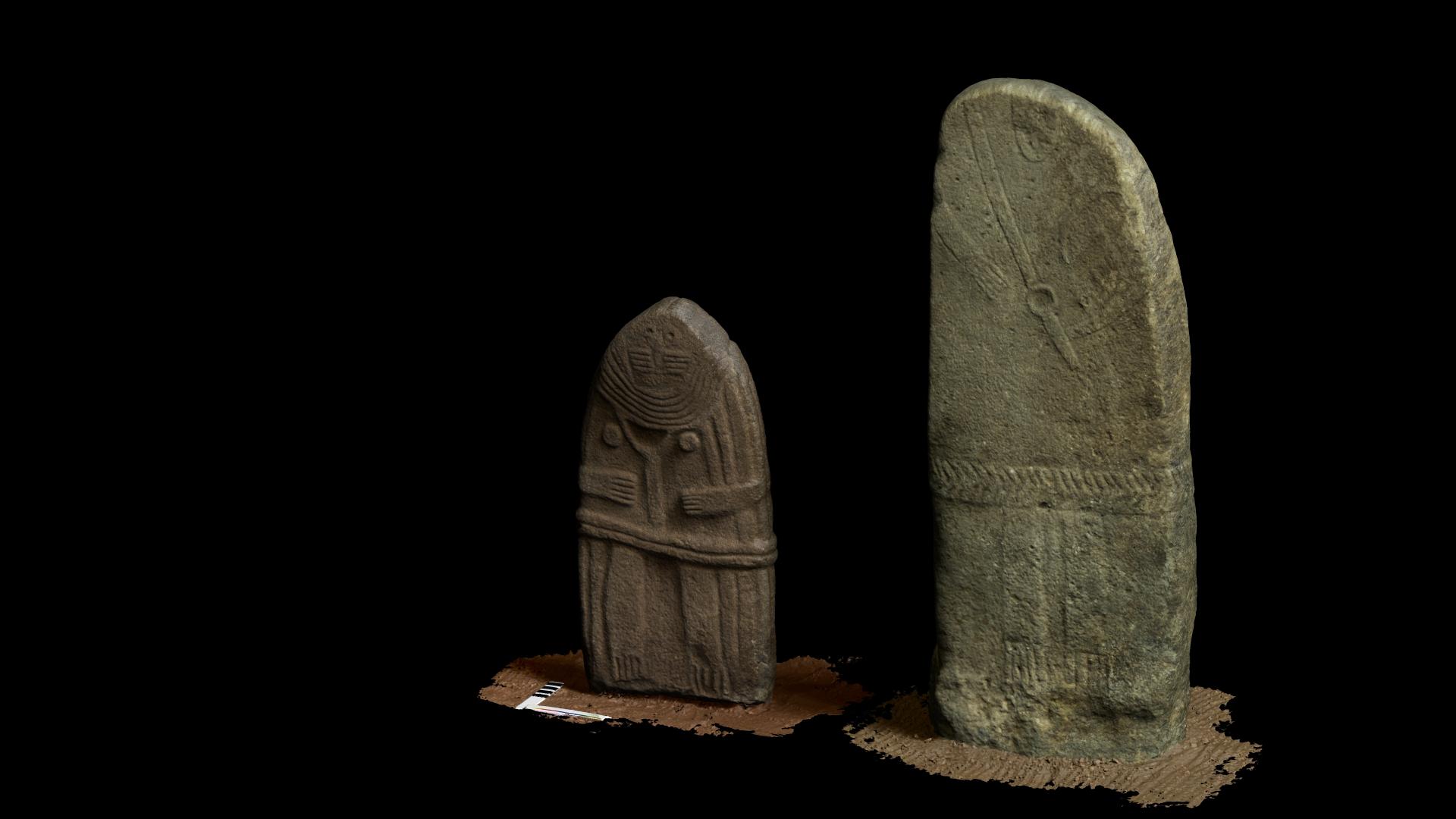 Musée Fenaille - Numérisation 3D - Statues-mehnirs