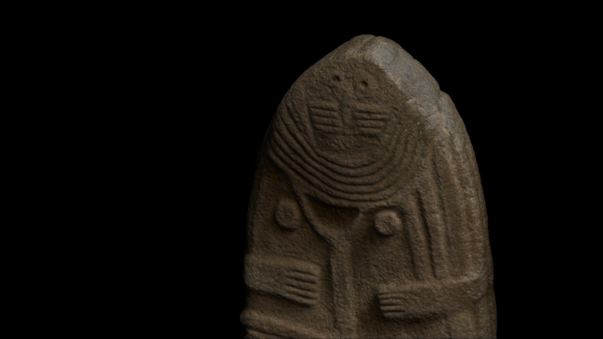 Musée Fenaille - Numérisation 3D - 3D scanning - Statues-mehnirs