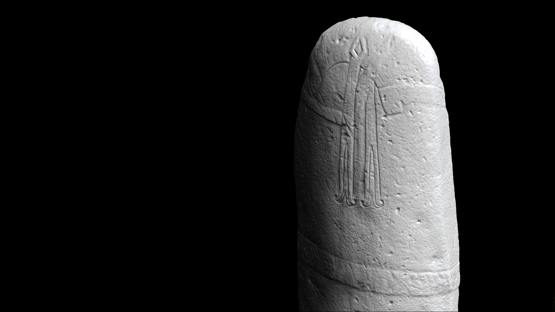 Numérisations 3D de statues-mehnirs - Musée Fenaille