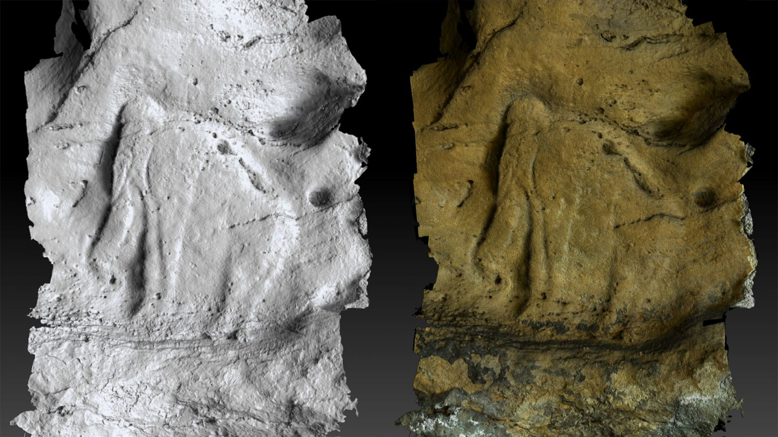 3D digitization of a cave : Saint Front de Domme site
