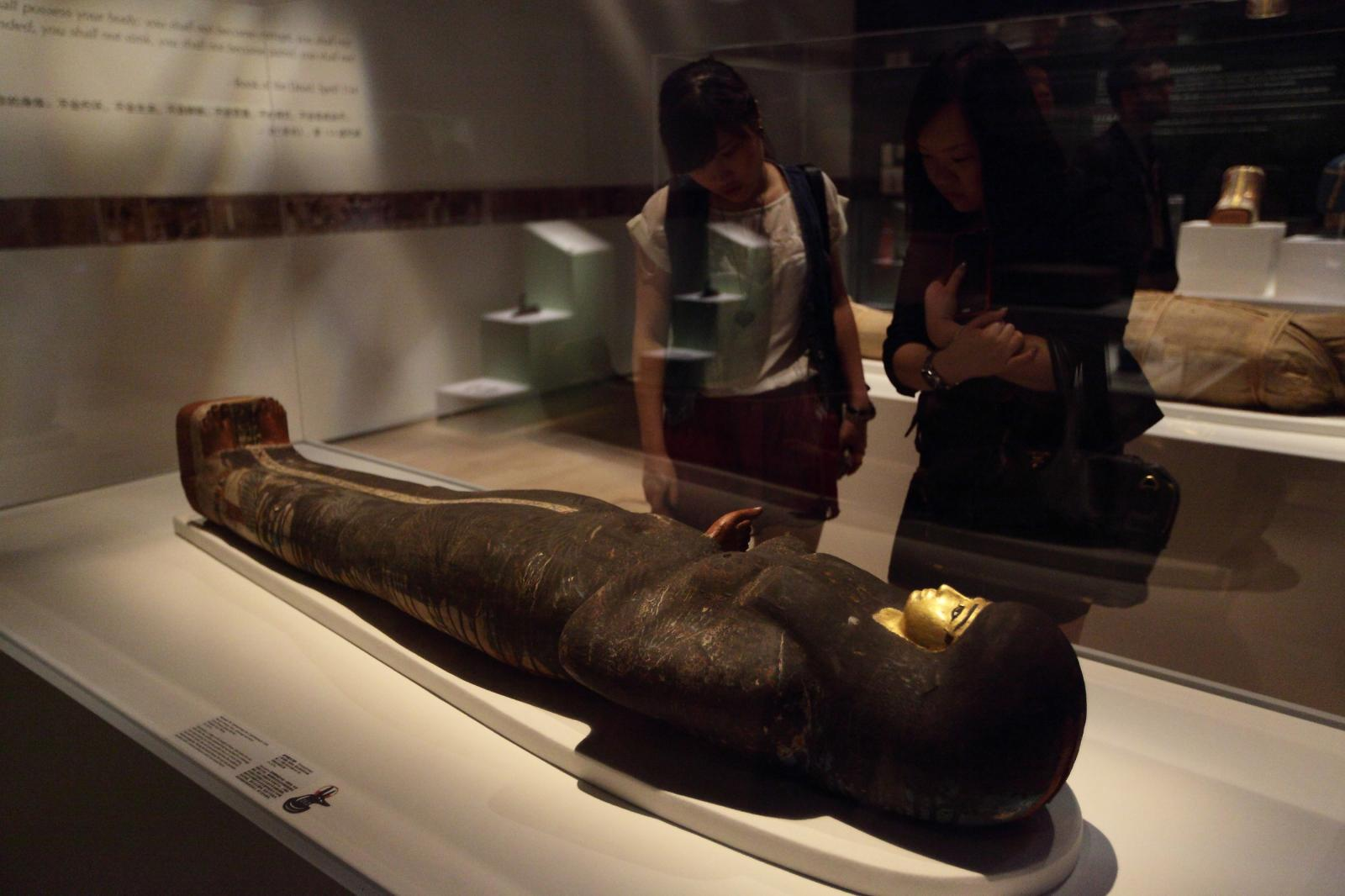 British Museum - Mummy: secrets of the tomb