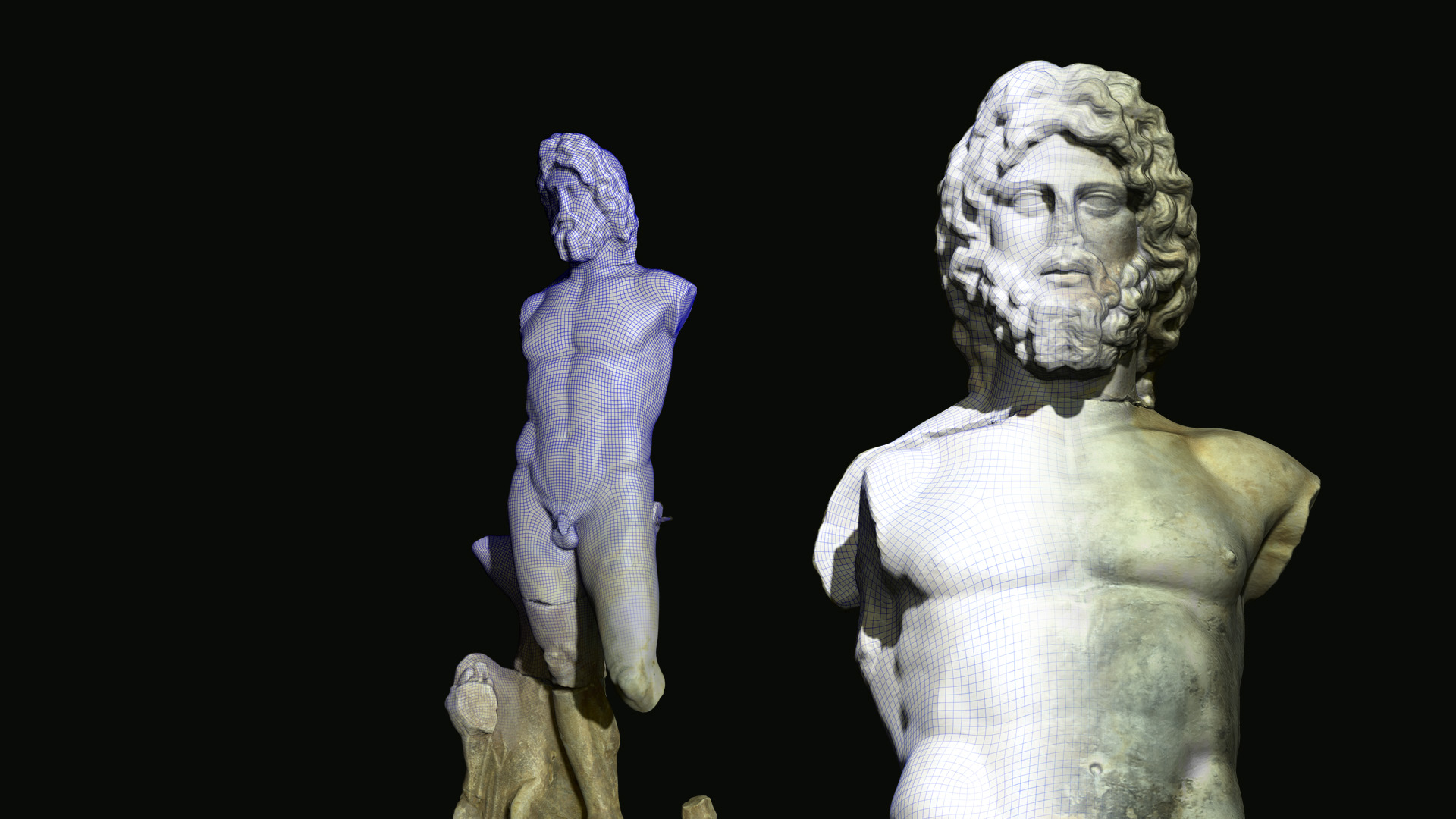 Musée Arles Antique - Neptune 3D