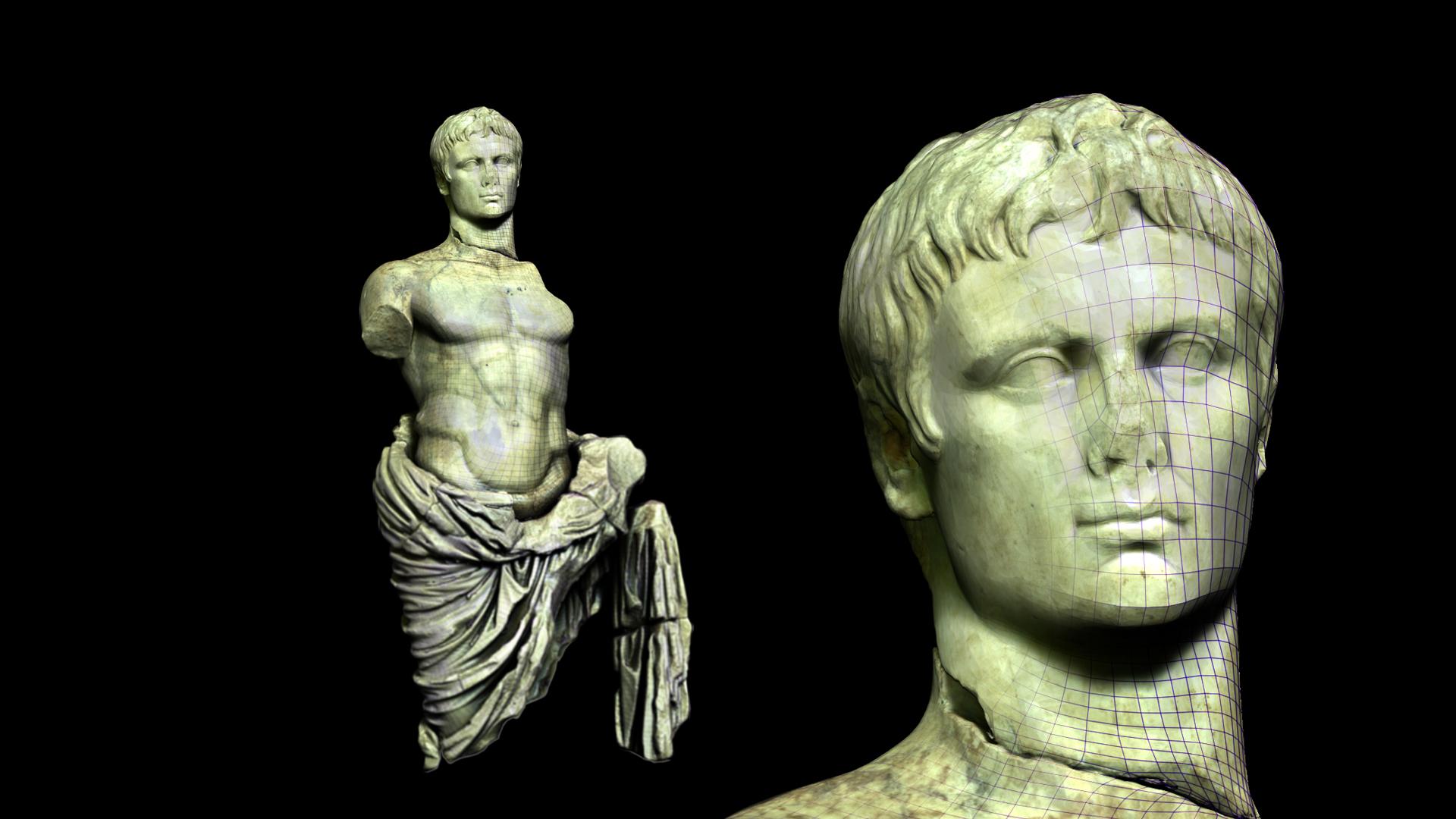 Musée Arles Antique - Auguste 3D