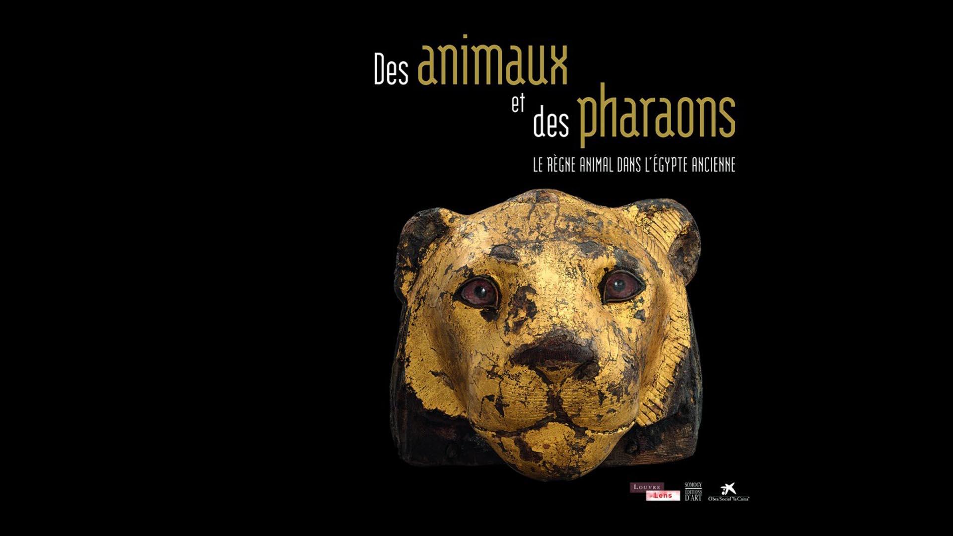 Affiche Louvre Lens - Exposition Des animaux et des pharaons