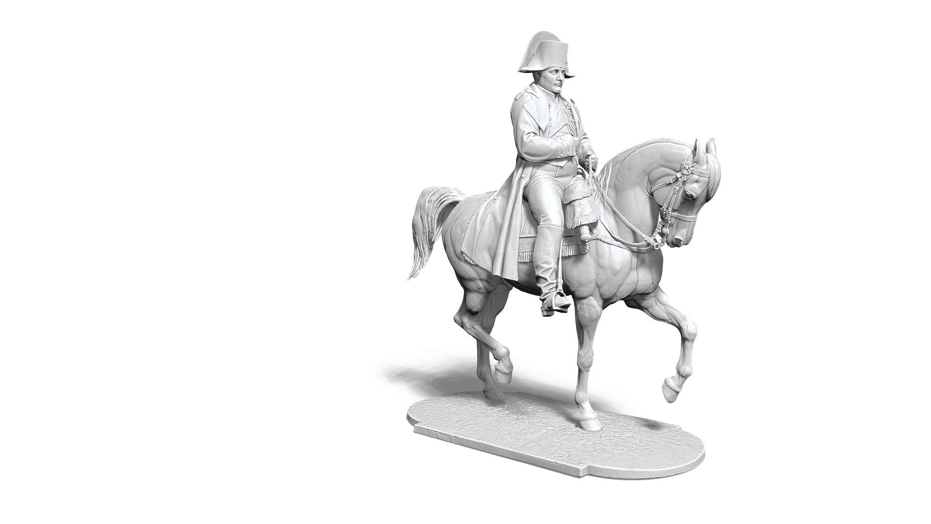 Napoléon 3D - Géométrie