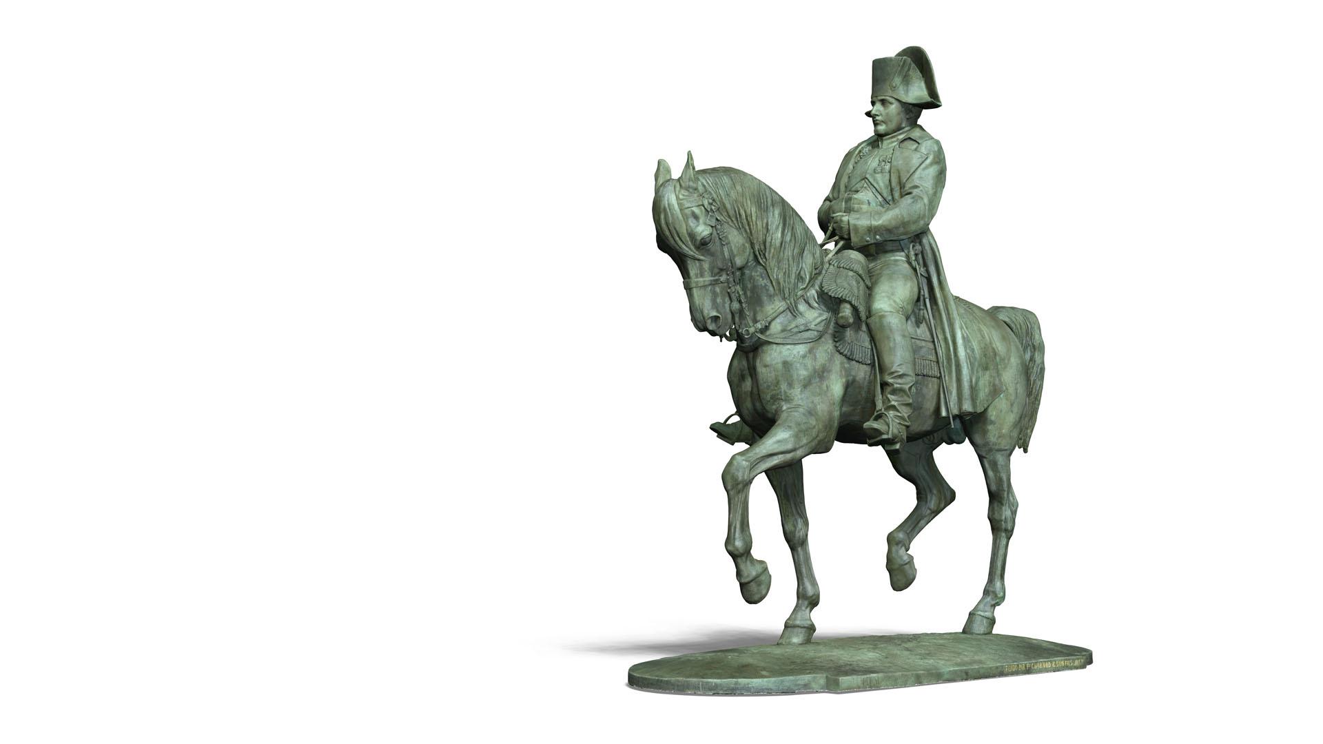 Napoléon 3D - Textures