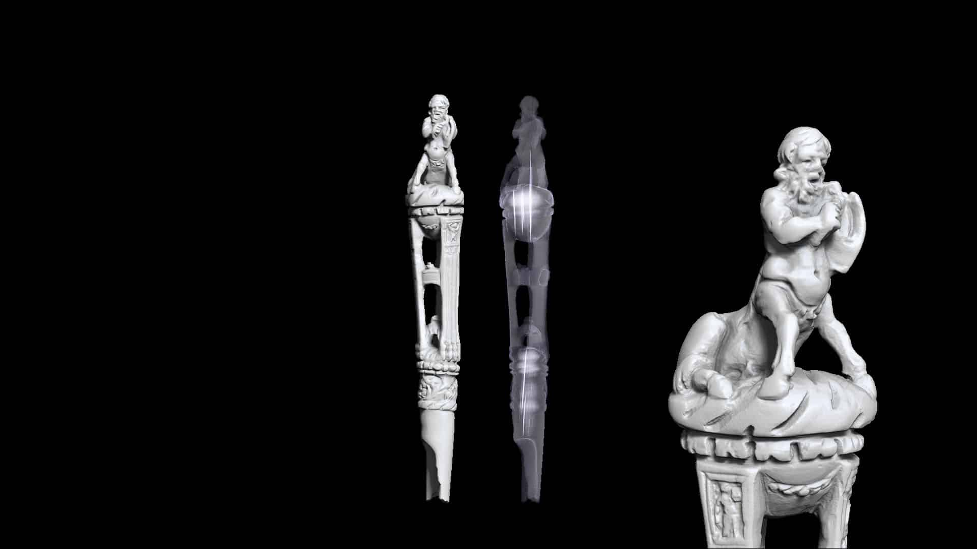 3D technologies for the Archeological Museum of Toulouse