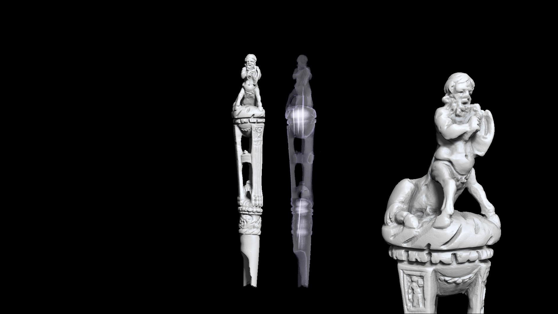 Manche de Centaure - microCT Rayons X