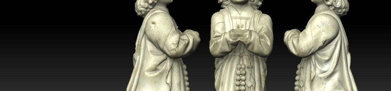 Numérisation 3D - Chapelain Hospitaliers - Musée Granet