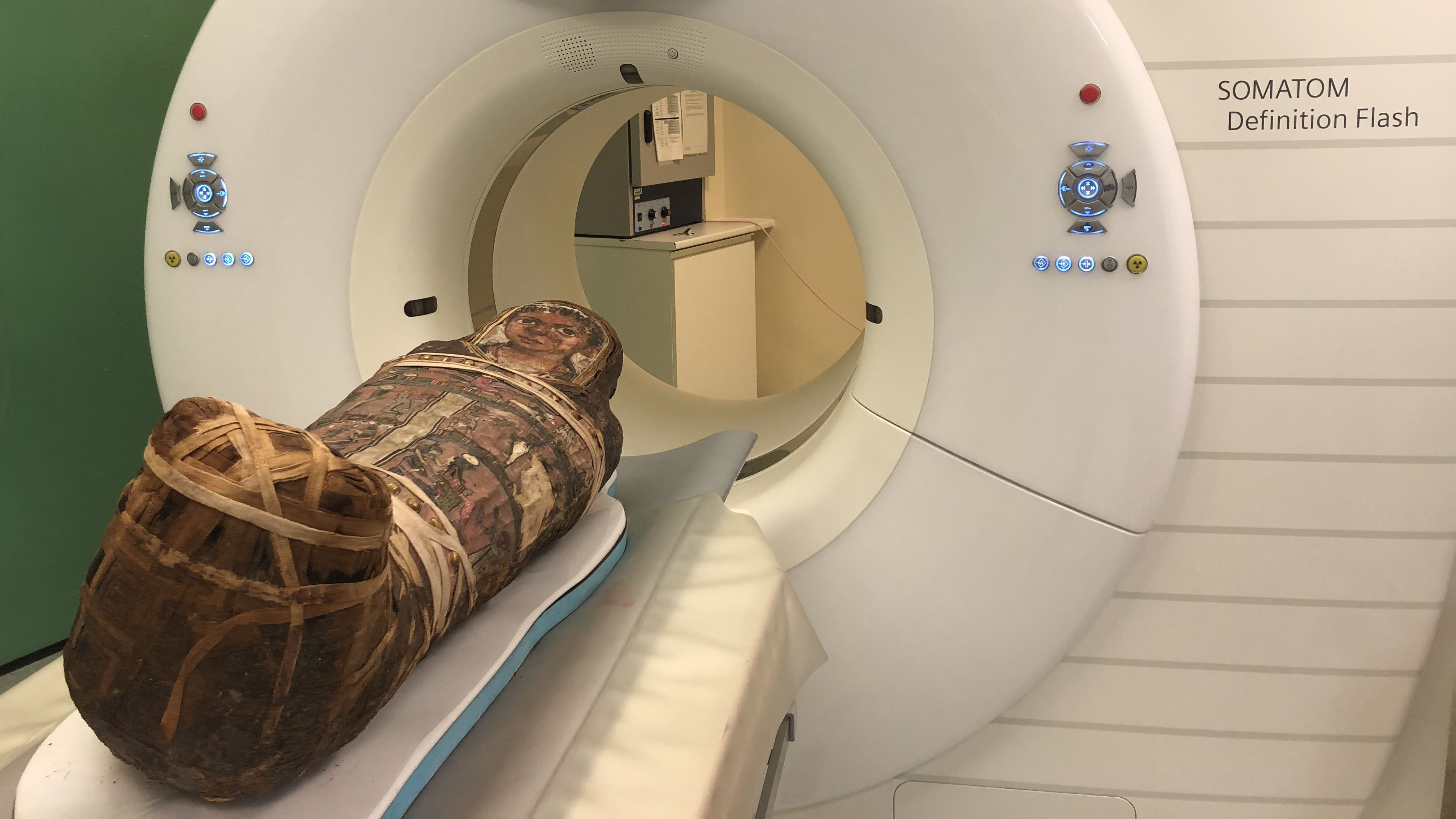 CT scan - Momie