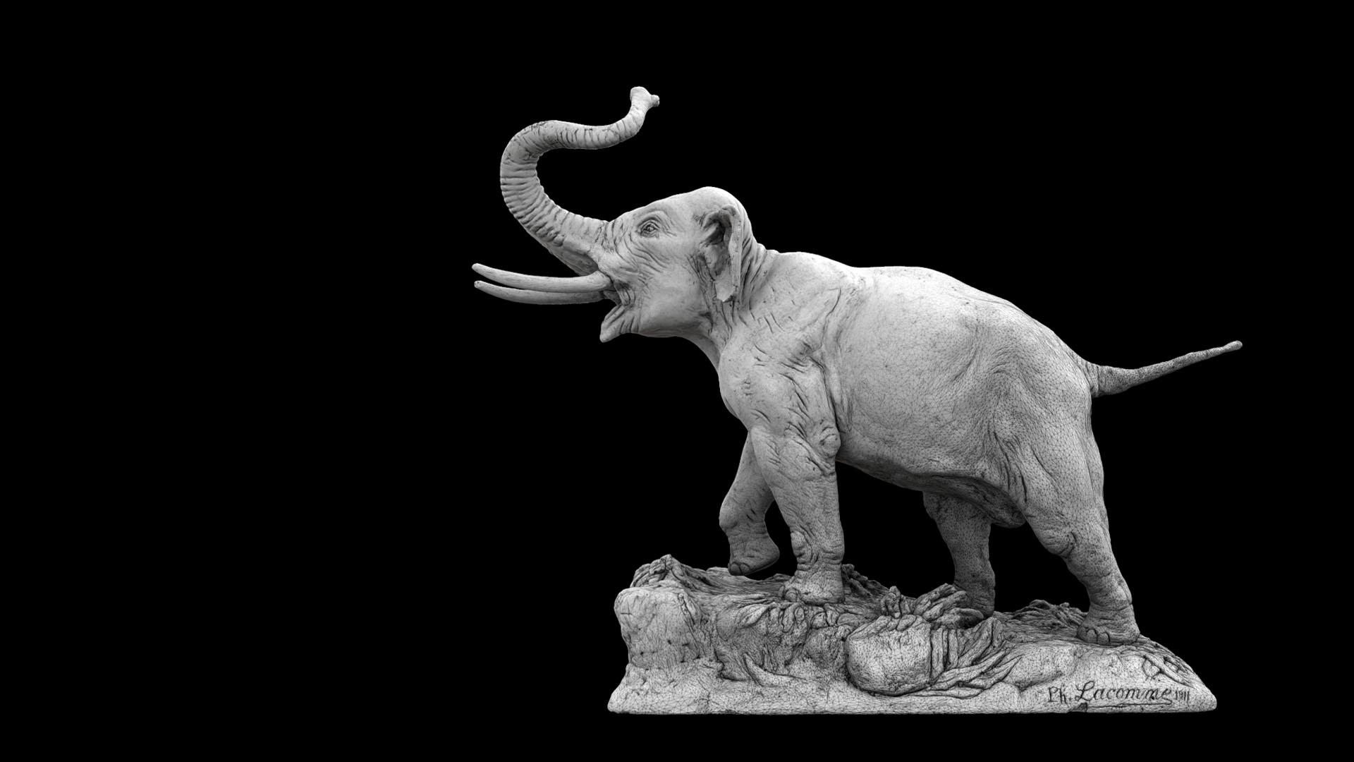 Elephant Punch Museum de Toulouse - Modèle 3D