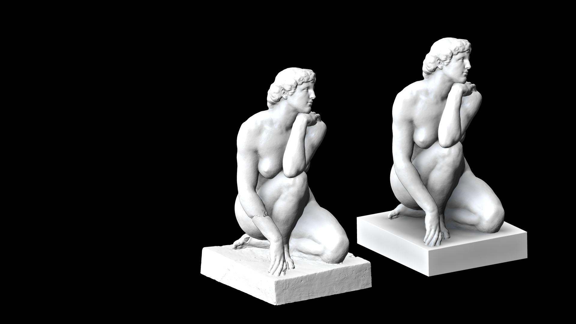 Sculpture numérique 3D