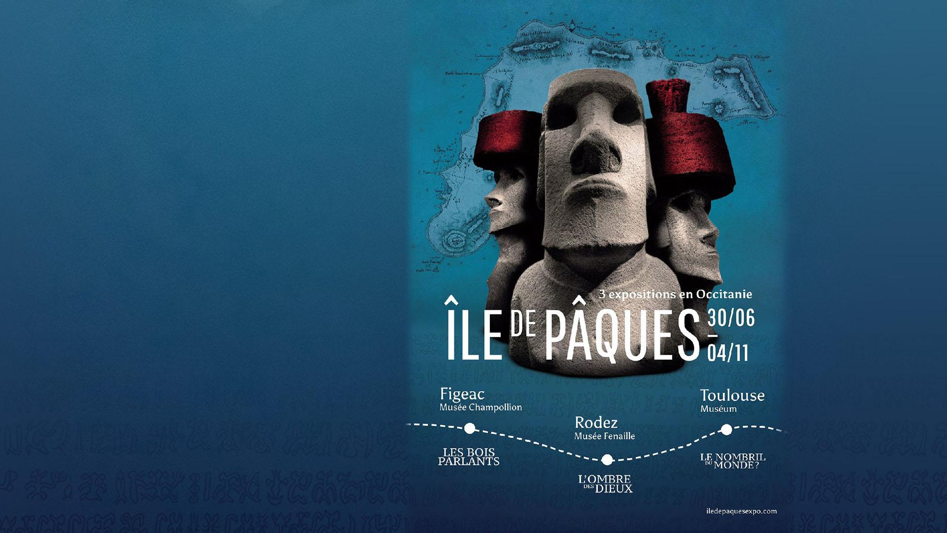 Ile de Pâques - Moai - Museum de Toulouse