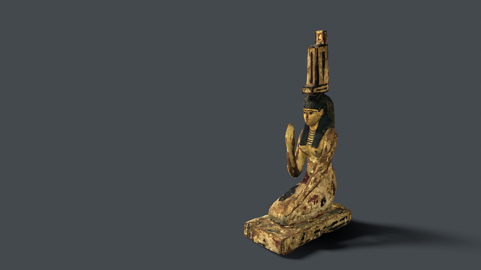 Isis Pleureuse - Musée d'Art et d'Archéologie de Guéret