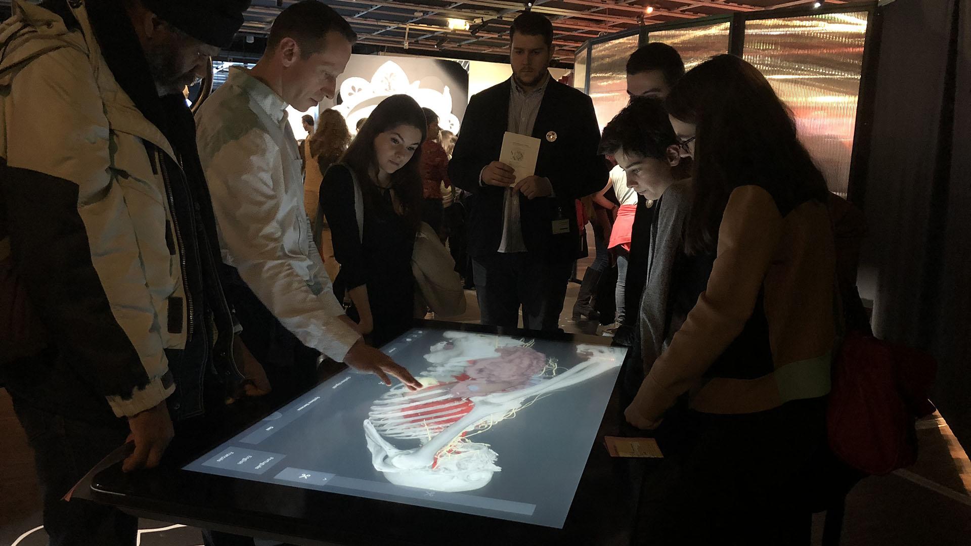 Exposition Microbiote - Cité des Sciences et de l'Industrie