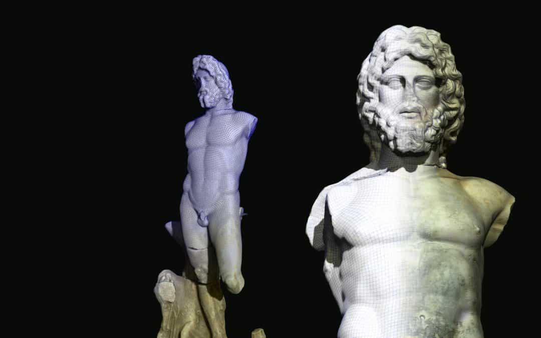 Arles Antic Museum 3D scanning