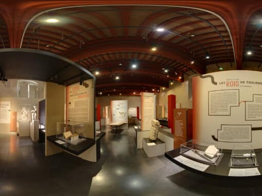 """360° virtual tour exhibition of """"Visigoths, Kings of Toulouse"""" – Musée Saint-Raymond Archeology museum of Toulouse"""
